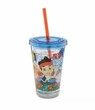 Disney Store Jake And The Never Land Pirates Small Tumbler Cup - $11.07