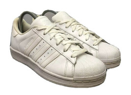 Adidas Originals Superstar Sneakers B23641 Cloud White Shell Toe Youth Size 5 - $44.10