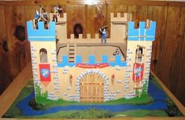Imaginarium Stonebriar Wooden Castle Set With Knights Ages 3+ - $30.56