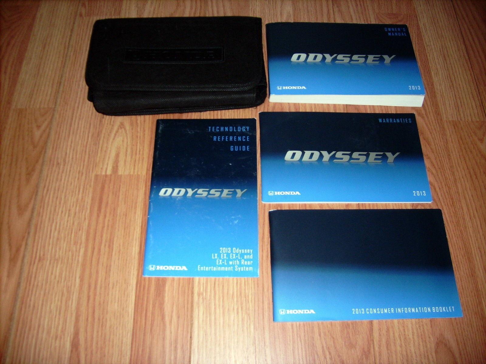 2013 Honda Odyssey Owners Manual 03322 and 50 similar items. S l1600