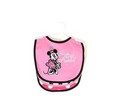 Bibs, Disney Baby 3-Pack Minnie Mouse Pink Baby Bibs Hugs All Around - $13.99