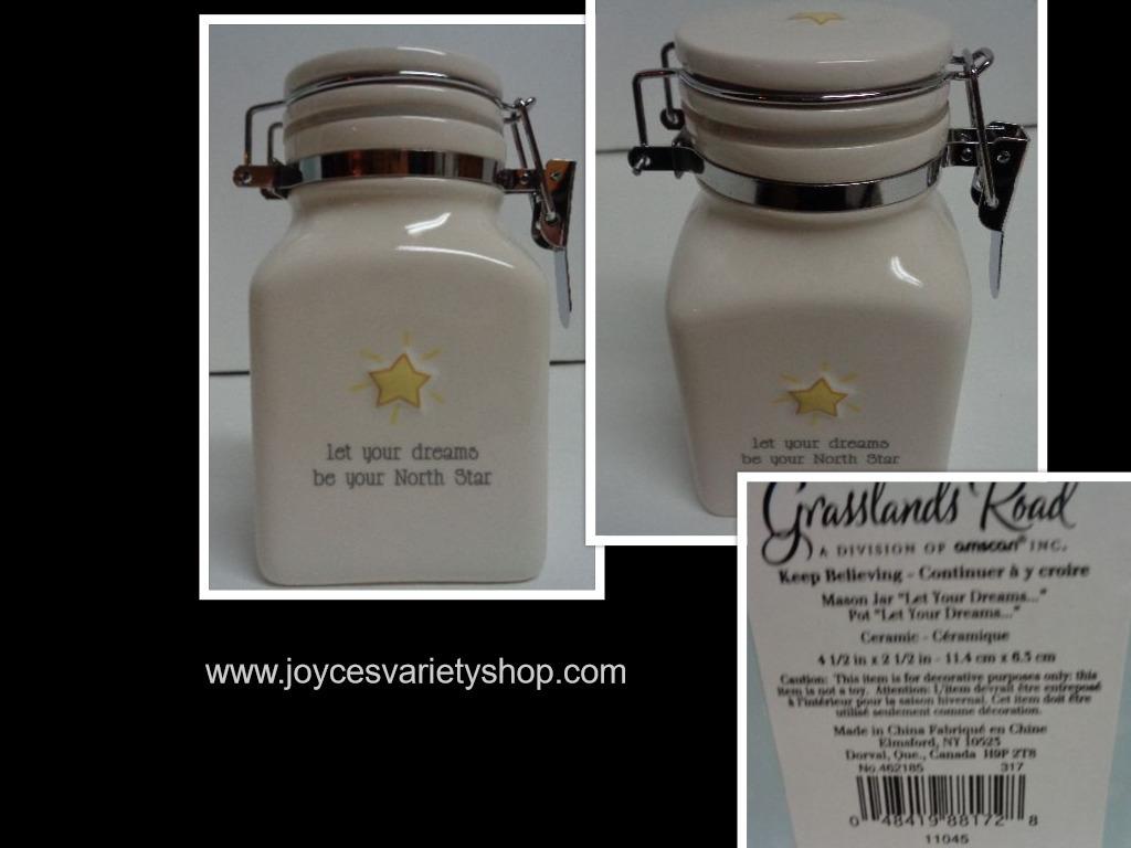 Grasslands mason jar believe collage