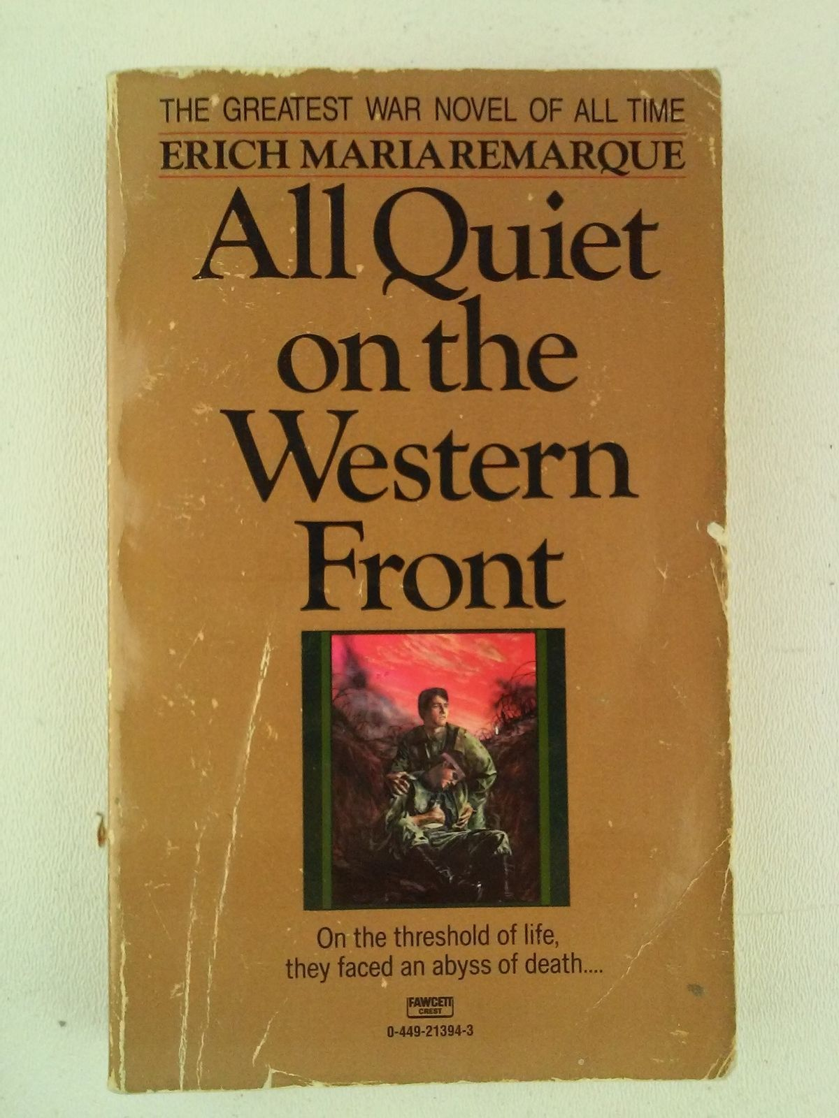 devastation of war in erich maria remarques all quiet on the western front Erich maria remarque's all quiet on the western front all they know is the war all quiet on the western front by erich maria remarque.