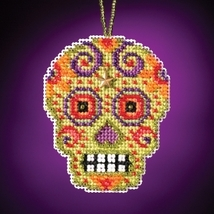 Verde Calavera 2016 charmed ornament kit cross ... - $6.75