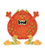 Roly Poly Trilogy Little Monsters 2016 bead orn... - $7.20