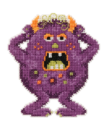Freckles Trilogy Little Monsters 2016 bead orna... - $7.20