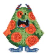 Spot Trilogy Little Monsters 2016 bead ornament... - $7.20