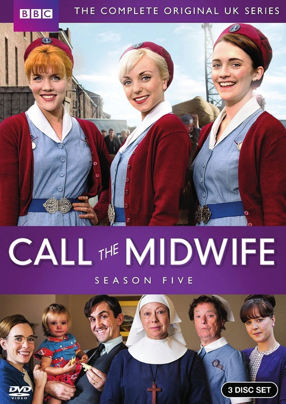 Call the midwife fifth season five 5  dvd 2016 3 disc  new in stock free ship