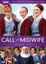 Call the midwife fifth season five 5  dvd 2016 3 disc  new in stock free ship thumb200