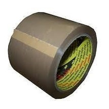 24 x EXTRA WIDE 3M BUFF PARCEL PACKING TAPE 75mm x 66M - $65.91