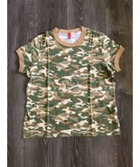 Exist Camouflage Short Sleeve Tshirt Size XL For Girl - $10.00