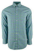 Southern Tide Men's Plaid Oxford Button Down Shirt-B-S - $77.12