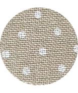 36ct Natural White Petit Point Edinburgh linen 18x27 cross stitch fabric... - $16.20