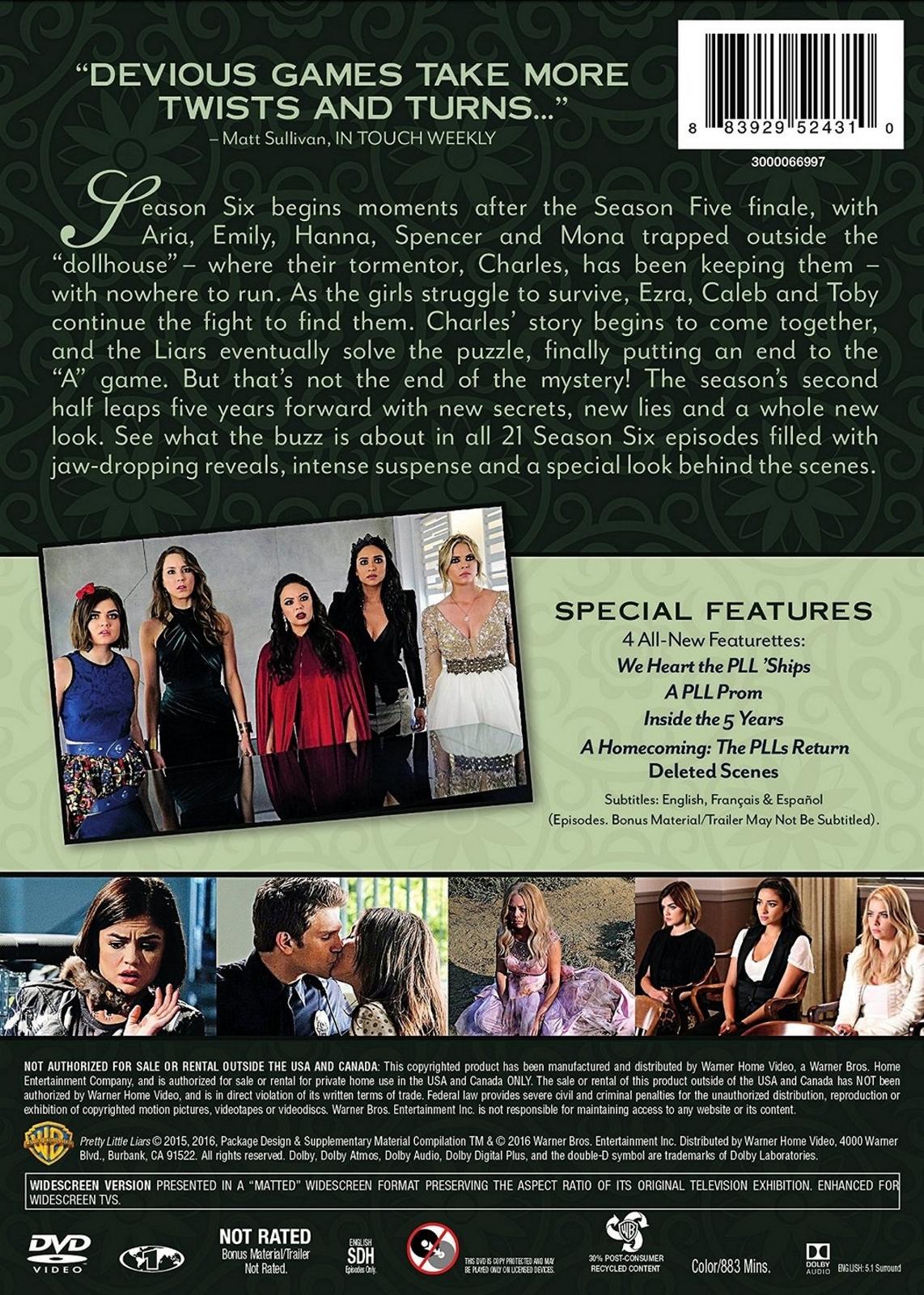 Pretty little liars season 5 dvd release date in Melbourne