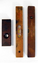 Mixed Lot of 3 Vintage Wood Levels - One is a Sears and Roebuck - $39.55