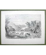 AFRICA Nigeria Scenery at Marghi Margi - 1858 E... - $12.38