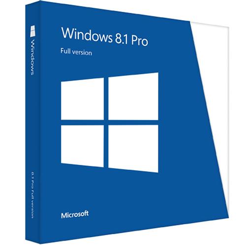 Windows 8.1 Professional 32/64-bit - Retail Key