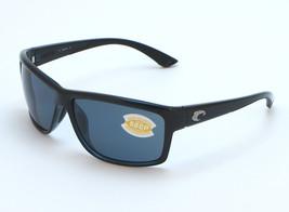 Costa del Mar Mag Bay Sunglasses AA 11 OGP - Shiny Black/Gray 580P - $118.96