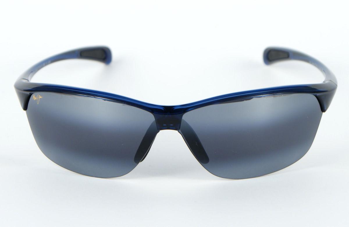 Maui Jim Hot Sands 426-03 Polarized Sunglasses - Blue/Neutral Grey image 2