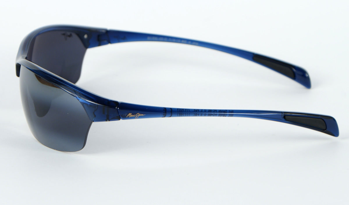 Maui Jim Hot Sands 426-03 Polarized Sunglasses - Blue/Neutral Grey image 3