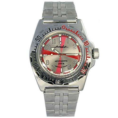 Vostok Amphibian 110651 / 2416b Scuba Diving Military Russian Watches Mechani...