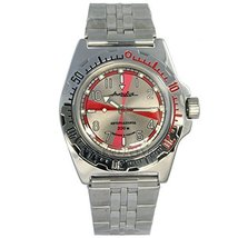 Vostok Amphibian 110651 / 2416b Scuba Diving Military Russian Watches Me... - $73.72