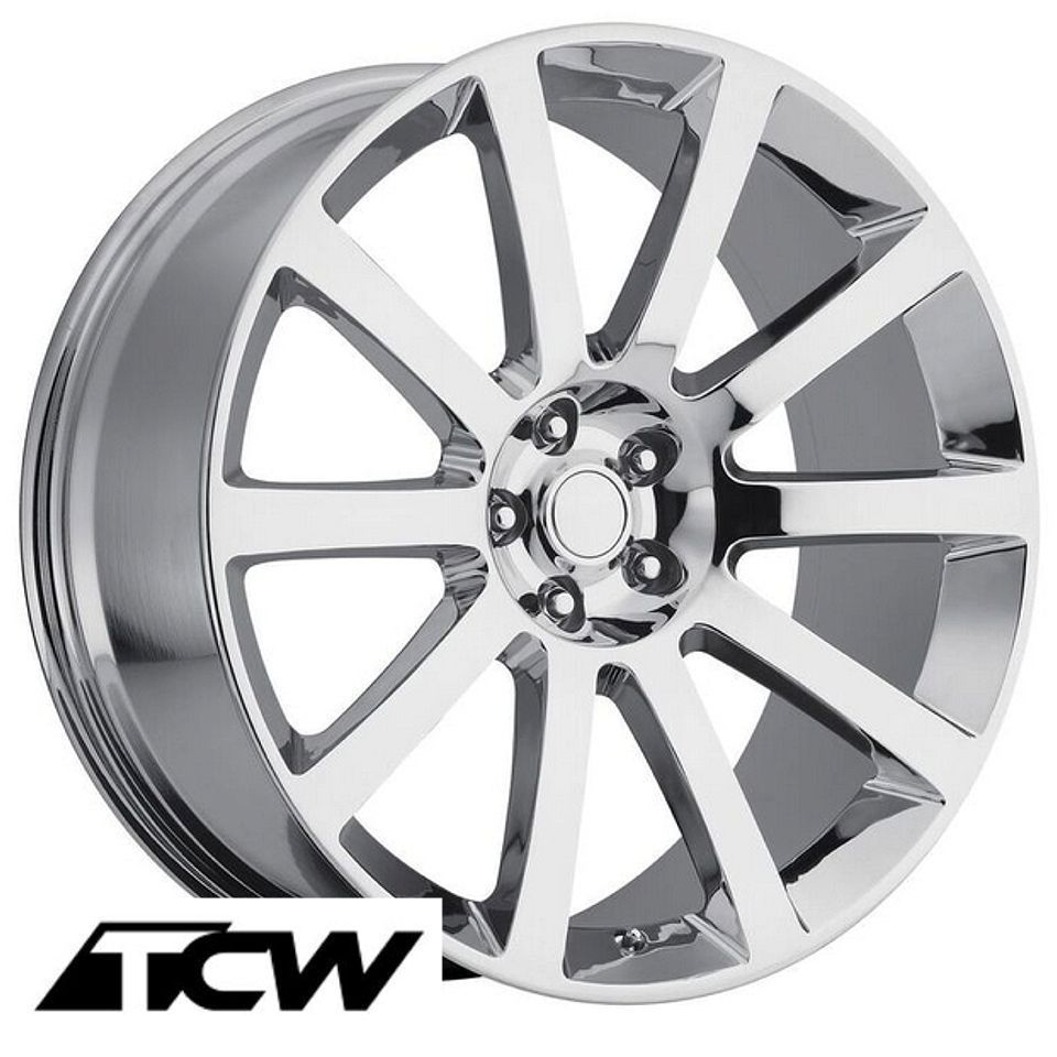 (4) 20x9 inch Chrysler 300 SRT8 2006 OE Replica Chrome Wheels Rims fit 300 05-16