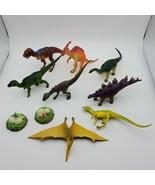 Lot of 10 Vintage 1997 Jasman Dinosaurs - $19.75