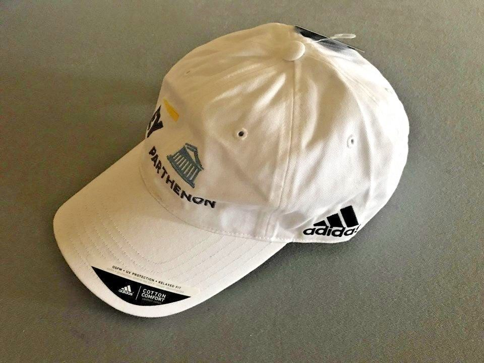 28cb2ad1 S l1600. S l1600. Previous. new adidas EY Parthenon WHITE GOLF HAT baseball  cap One Size Men Women Unisex. new adidas EY Parthenon ...