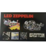 """LED ZEPPELIN III Sheet of 7 Stickers for new Album Release 6-1/2"""" x 5-1/2"""" - $9.95"""