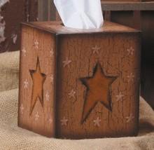 Tissue Box Cover Paper Mache' 3 Tb002 Star Kleenex Box Cover - $6.95