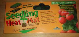"""Hydrofarm Seedling Heat Mat 9"""" x 19.5~17Watts 120 Volt - $19.33"""