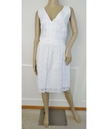 Nwt Laundry by Shelli Segal Cotton Eyelet Fit F... - $79.15
