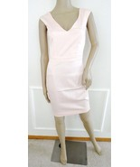 Nwt French Connection Electric Plains V-neck Cotton Sheath Dress Sz 12 A... - $69.25