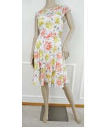 Nwt  Betsey Johnson Floral Fitted Skater Dress ... - $69.25