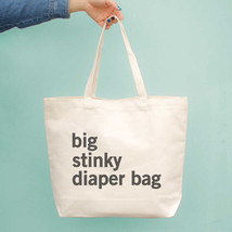 Big Stinky Diaper Bag Baby Shower Or Mother's Day Gifts For New Mom Canv... - $15.99