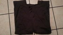 CLAIBORNE Womens Gray casual dress pants Womens Gray cotton office pants... - $4.75