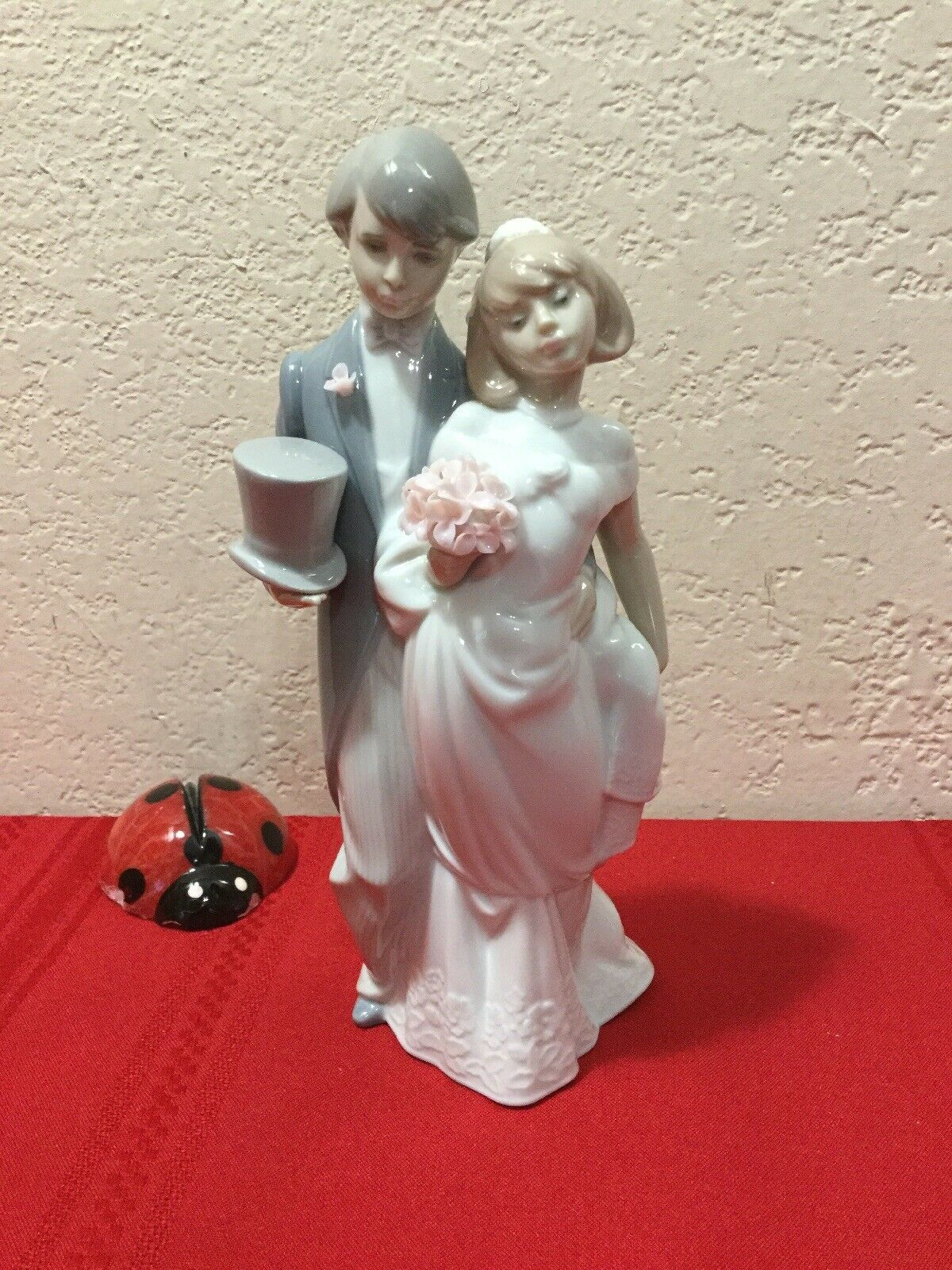 "Primary image for Lladro Bride And Groom Figurine Statue Daisa 1994  ""Wedding Bells"" 8 1/2"