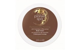 AVON Planet Spa Fantastically Firming Body Cream with Colombian Coffee 2... - $8.79