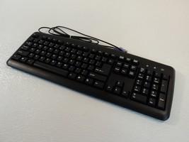 Acer Wired Desktop Keyboard PS2 104 Key Black KB-0325 - $17.40