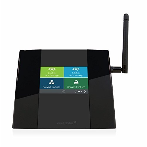 Amped Wireless High Power Touch Screen AC750 Wi-Fi Router tap200