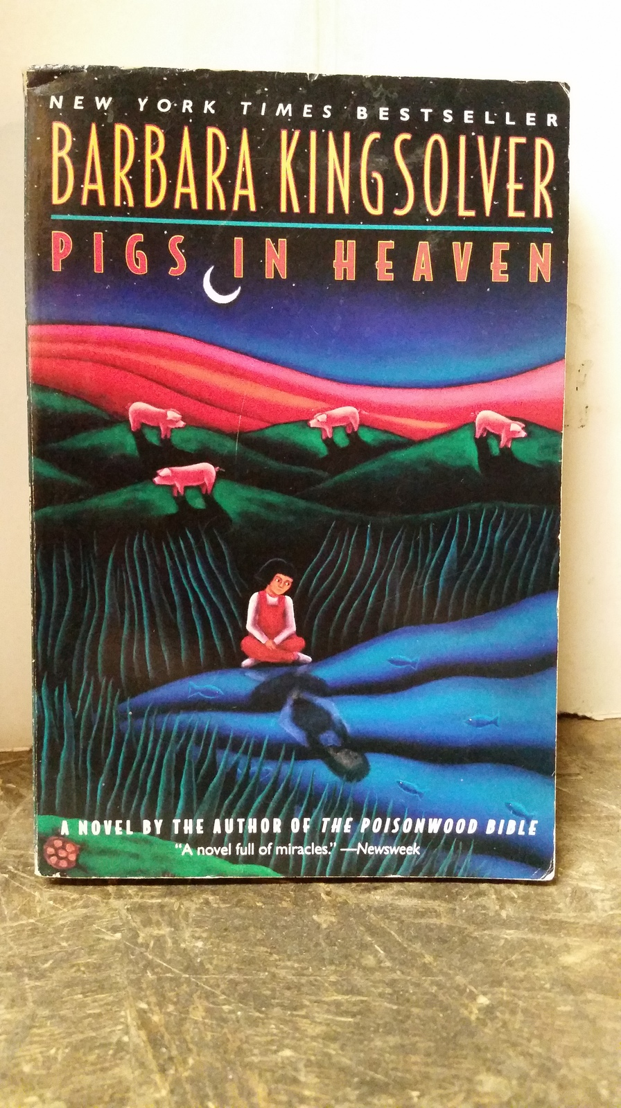 pigs in heaven by barbara kingsolver essay Read barbara kingsolver free essay and over 88,000 other research documents barbara kingsolver in the three books, the poisonwood bible, the bean trees and pigs in heaven, barbara kingsolver chose to use the.
