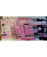 Breast Cancer Knee High  Sock Size 9-11 NWT Various Colors 1 pair - $3.99