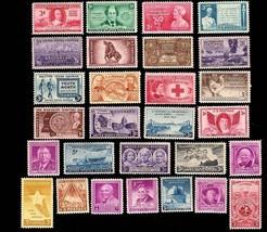 1948 Year Set of 28 Commemorative Stamps Mint NH - Stuart Katz - $8.95
