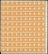 "1735, 15c ""A"" Stamp RARE Misperforation ERROR Sheet of 100 Stamps -- Stu... - $400.00"
