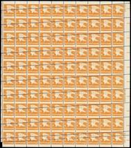 "1735, 15c ""A"" Stamp RARE Misperforation ERROR Sheet of 100 Stamps -- Stu... - $400.00"