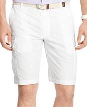 Izod Ripstop Cargo Shorts White Size 42 - $28.71
