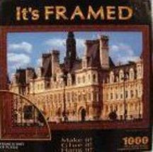 It's Framed Hotel De Ville Paris France 1000 Piece Jigsaw Puzzle - Ready... - $8.86