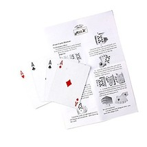 Magic Assemble Four Cards Magic (Change All Cards to Ace) - One Set with Rand...