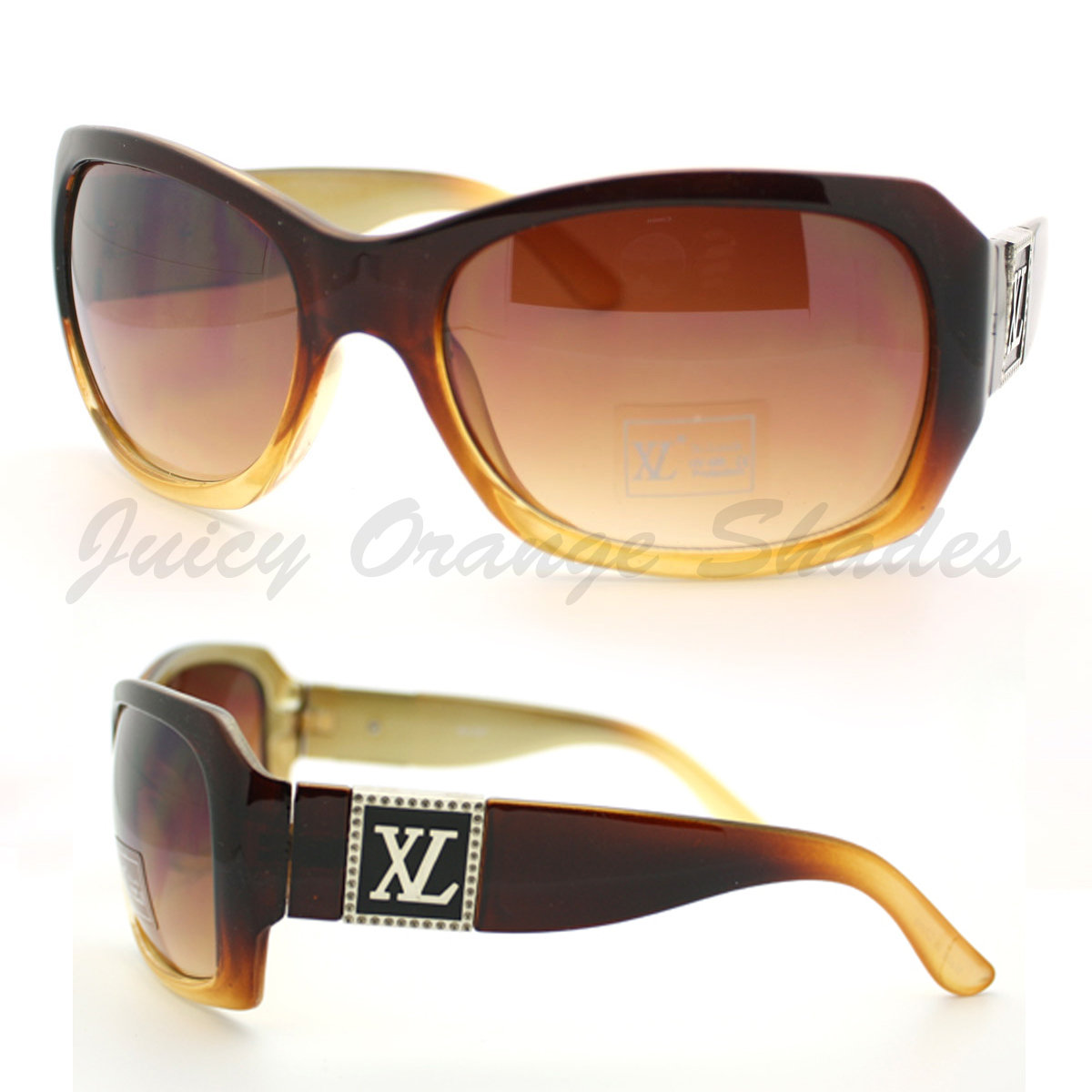 WOMEN'S BOLD CLASSIC Sunglasses DESIGNER Fashion THICK LARGE Frame NEW